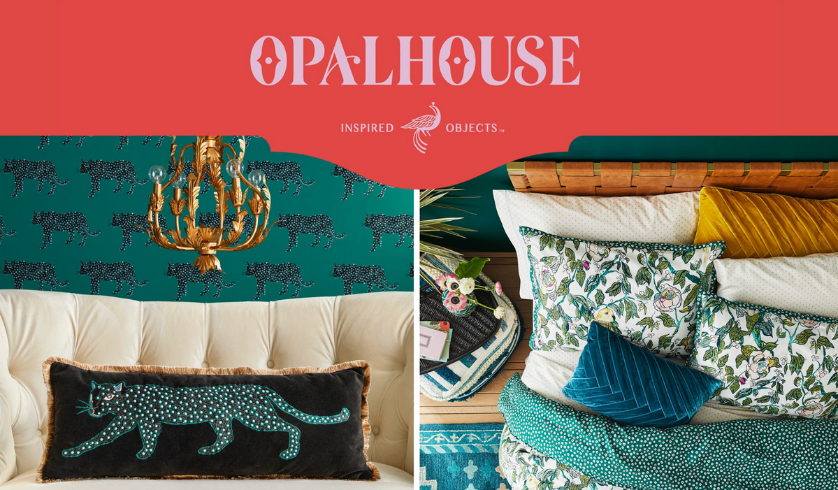 20 affordable must have items from Target's Opalhouse eclectic and unique home decor line.