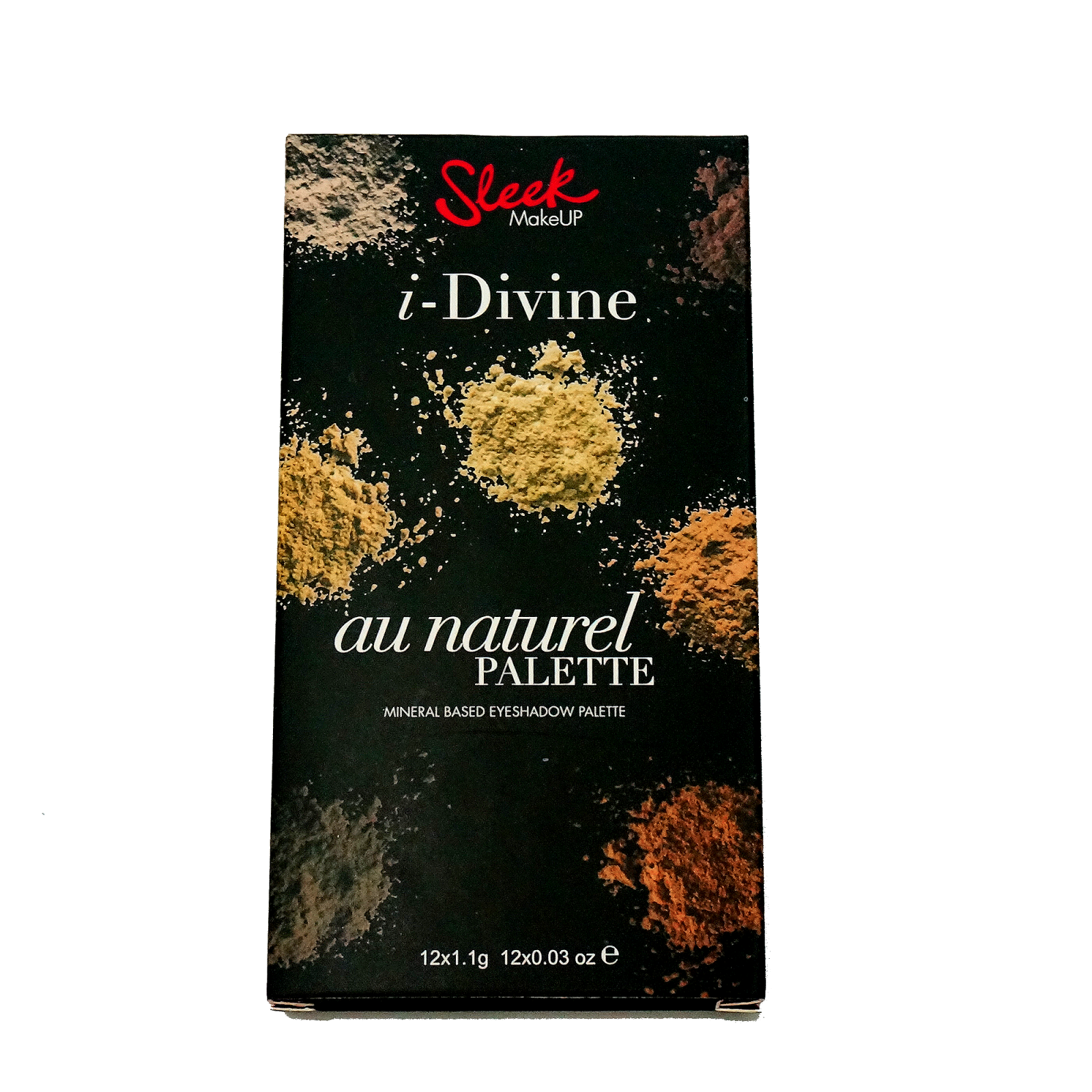 Sleek i Divine Au Naturale Palette Swatch and Review