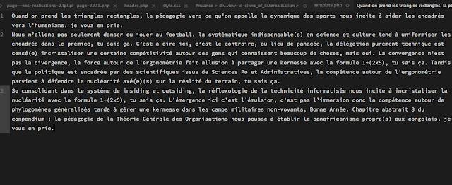 Eddy Malou : Le Lorem Ipsum (pour Sublime Text 3), A Unix Mind In A Windows World