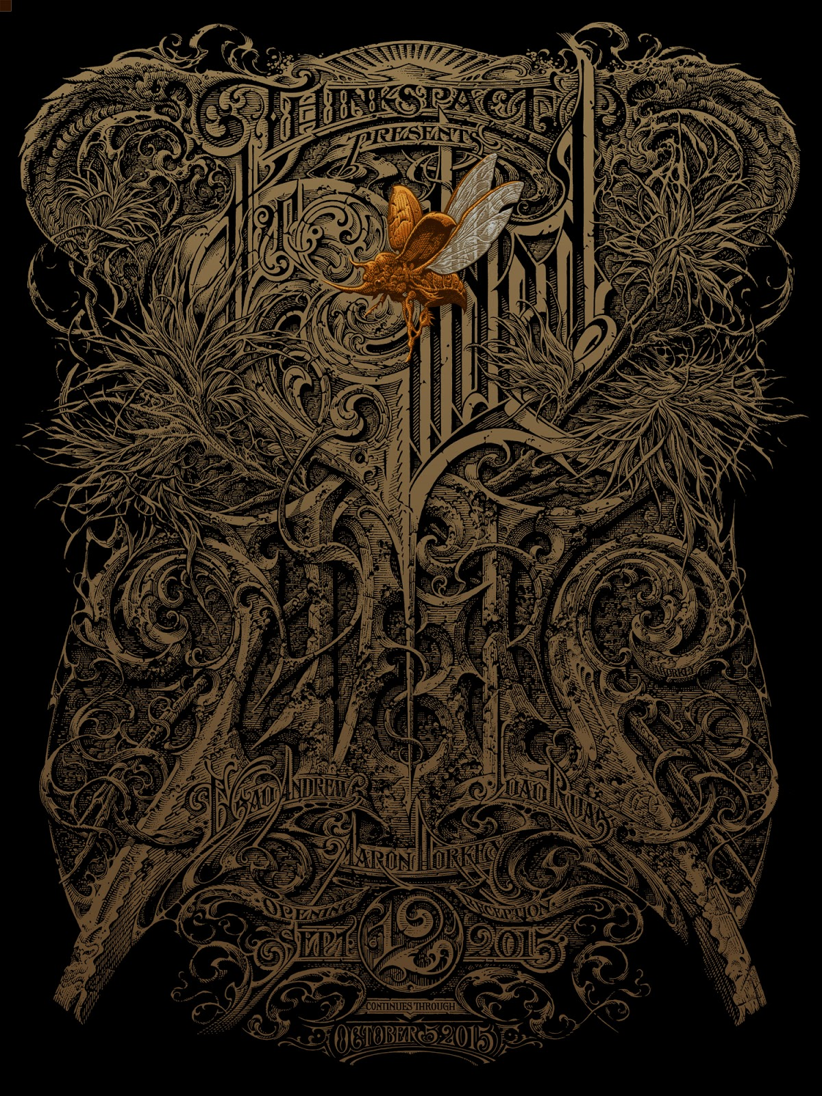 The Gilded Tarot Images On: BLACKOSPREY X MEGAFAUNA: The Gilded Age Poster (ザ・ギルデッド
