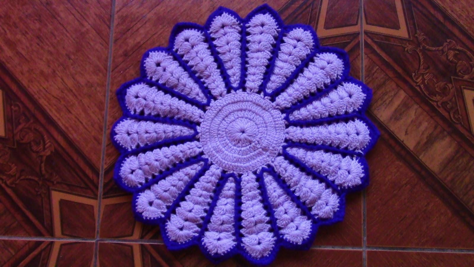 Tejidos olga huaman tapetes tejidos a crochet para sillas - Tejidos para tapizar sillas ...