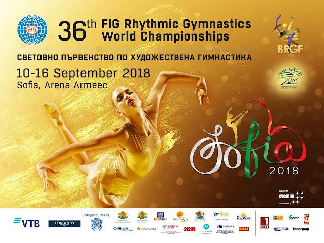 GIMNASIA RÍTMICA - Mundial 2018 (Sofía, Bulgaria): Dina Averina fue la gran protagonista y España fue 8ª en grupo de 2 pelotas y 3 cuerdas