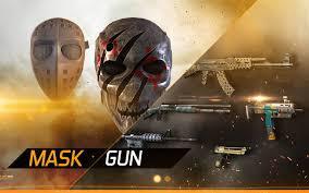 MaskGun Apk v1.031 Mod High Damage Ammo No Reload