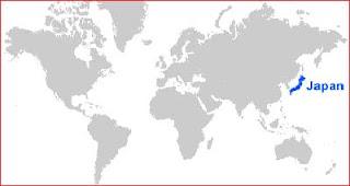 Gambar Peta letak Jepang