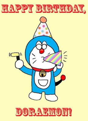 Gambar Kartu Ulang Tahun Doraemon Lucu Ucapan Happy Birthday Pics