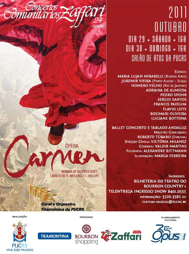 pera Carmen de Bizet