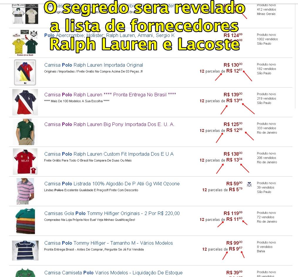 38e077695c4a7 Saiba quanto você pagara no fornecedores estas marcas que são sucesso no  Brasil e no mundo.
