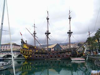 Gênes Genova port