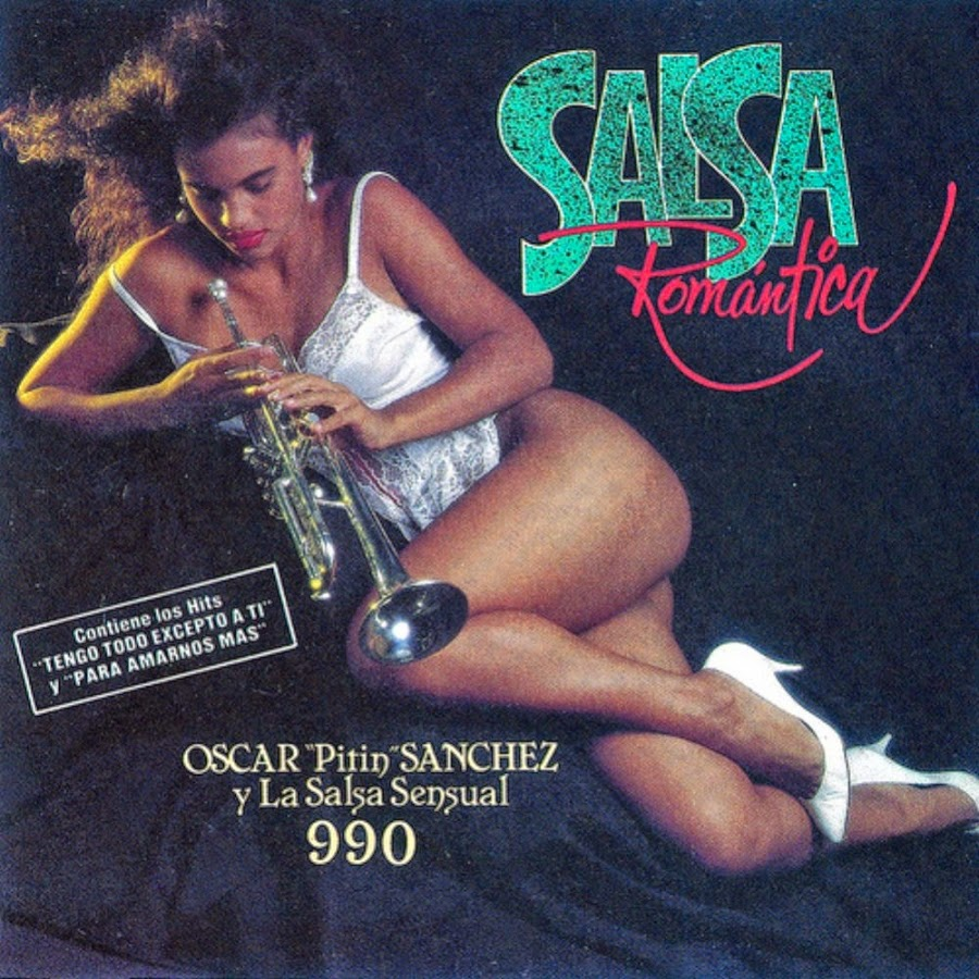 """SALSA ROMANTICA - OSCAR """"PITIN"""" SANCHEZ Y LA SENSUAL 990 (1991)"""