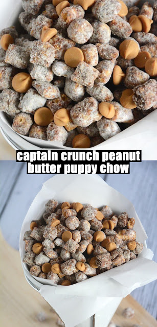 Yummy captain crunch peanut butter puppy chow Simpan Recipe