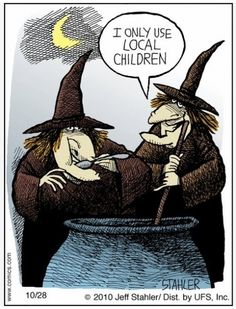 Best funny halloween witches meme pictures cartoons animated gifs ...