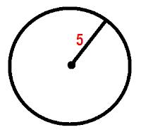 Aprendendo a calcular o Perímetro do Círculo de 5 cm