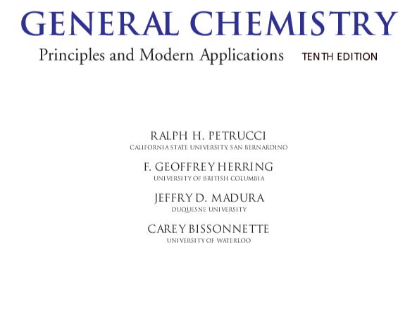 Chemistry principles pdf general of