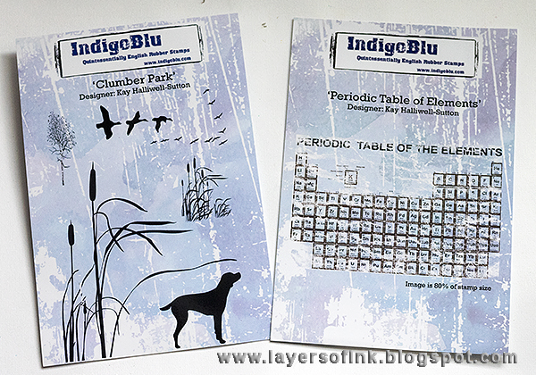Layers of ink - A good day to smile Tag by Anna-Karin with stamps by IndigoBlu