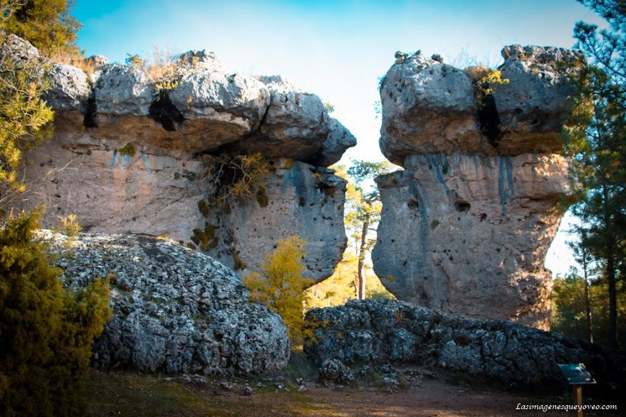 La Ciudad Encantada de Cuenca. Paisaje Kárstico