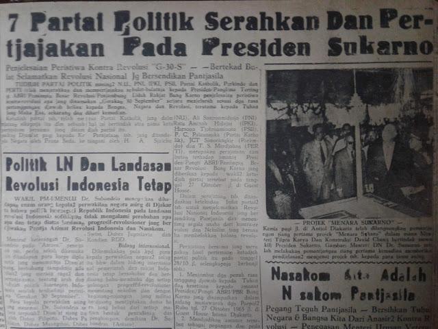 Arsip Koran Partai Politik