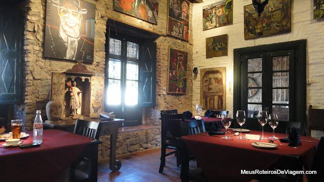 La Casa de Jorge Paez Vilaro Restaurant - Colonia del Sacramento, Uruguai