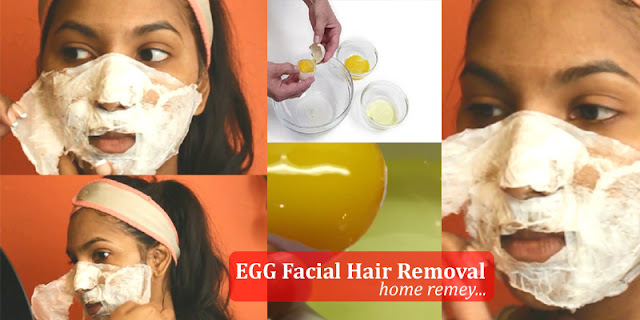 How To Remove Facial Hair At Home Permanently By Using Egg