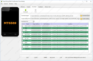 SP Flash Tool Version v3.1352.01