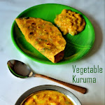 Vegetable Kurma Recipe | Mixed Vegetable Kurma | Veg Kurma for Chapathi/Roti | Hotel Style Veg Kurma for Chapathi | My 350th Post