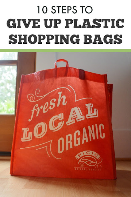 How to give up using plastic shopping bags