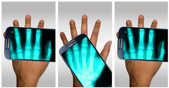 aplikasi kamera berfitur xray android