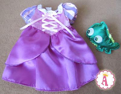 Платье куклы Рапунцель, игрушка из серии Disney Animators Collection Rapunzel