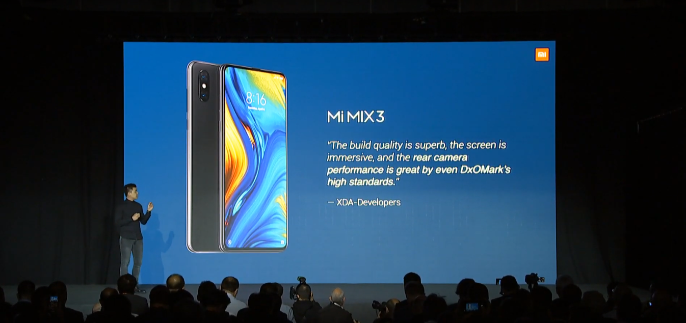 Mi Mix 3 5G: Price and Specification