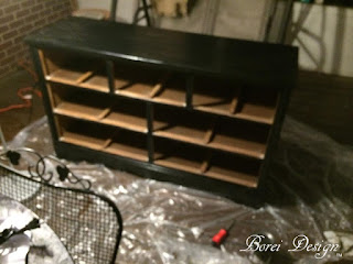 how to refinish dresser paint furniture makeover black