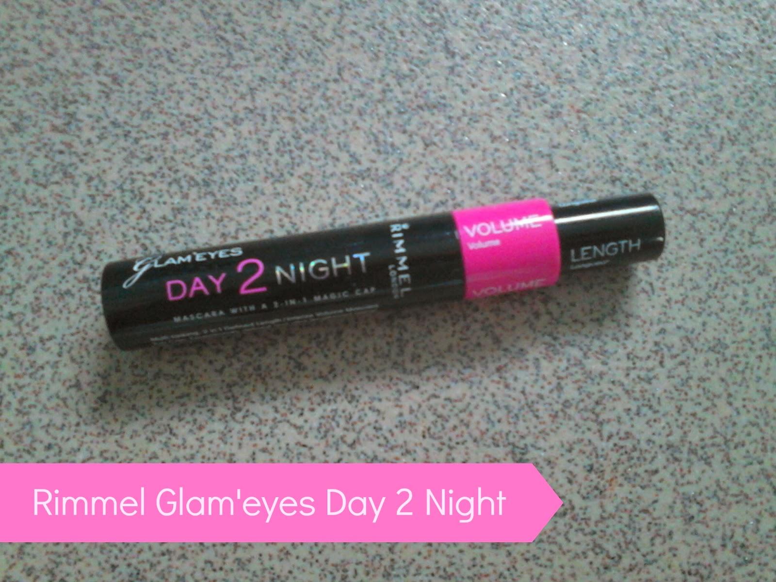 Rimmel Glam'Eyes Day 2 Night Mascara