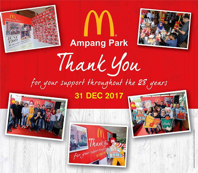 McDonald's Opens at The Intermark to mark new memories following closure of Ampang Park