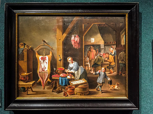 Sausage Making - David Teniers II