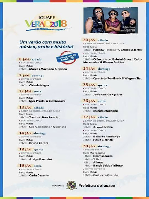 Show Cidade Negra no Iguape Verão