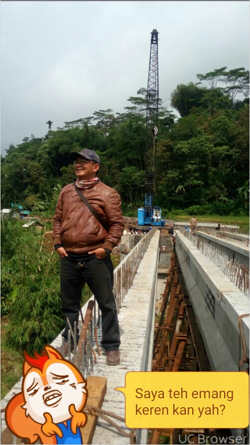 Pembangunan Jembatan Cibodas Tasikmalaya