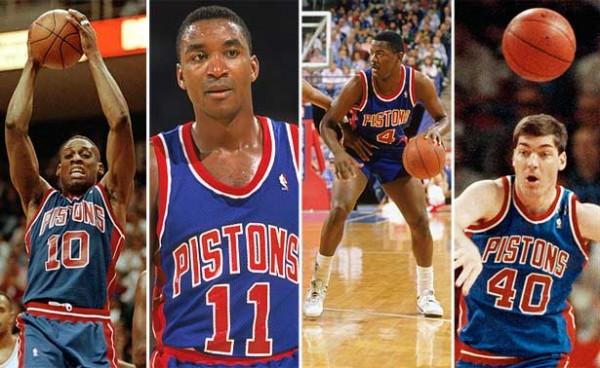 more photos 70e44 66b7e 1989-1990 Detroit Pistons (Season Record  59-23, Playoff Record  15-5, NBA  Champions)