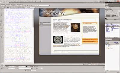 Cara Menggunakan Dreamweaver untuk Mengedit Web Blogger Template