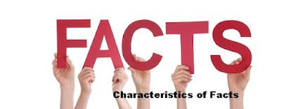 Characteristics of Facts - pustakapengetahuan.com