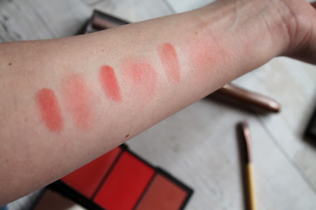Sleek Blush by 3 in Flame Review and Swatches