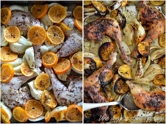 Jerusalem,Ottolenghi,Roasted chicken with clementines & arak,