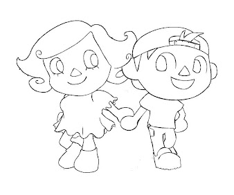 17 Animal Crossing Coloring Page
