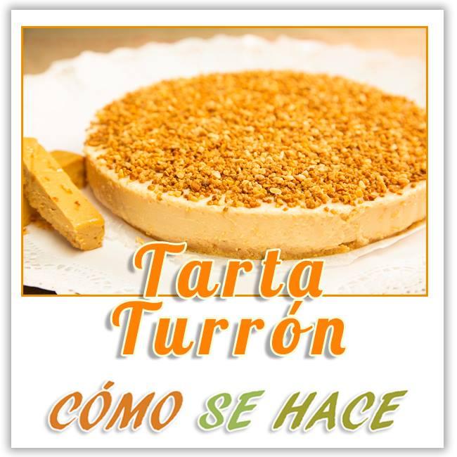 TARTA DE TURRÓN SIN HORNO