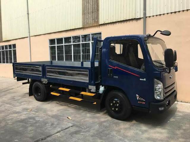 Xe tải 2.5 tấn IZ65 Thùng Lửng