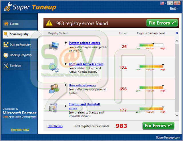 Super Tuneup (Falso optimizador)