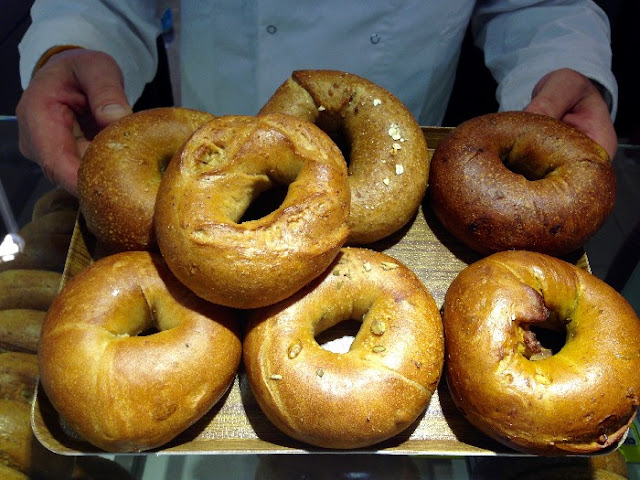 Kate's Bakeshop, NY Bagels, Ayala Center Cebu, Kate's NY Bagels, Where to buy bagels in Cebu, Bagels