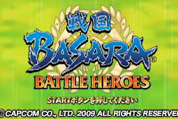 Sengoku Basara Battle Heroes ISO PPSSPP+Save Game 100%
