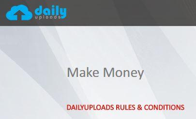 วิธีดาวน์โหลดจาก dailyuploads.net เว็บฝากไฟล์ได้เงิน