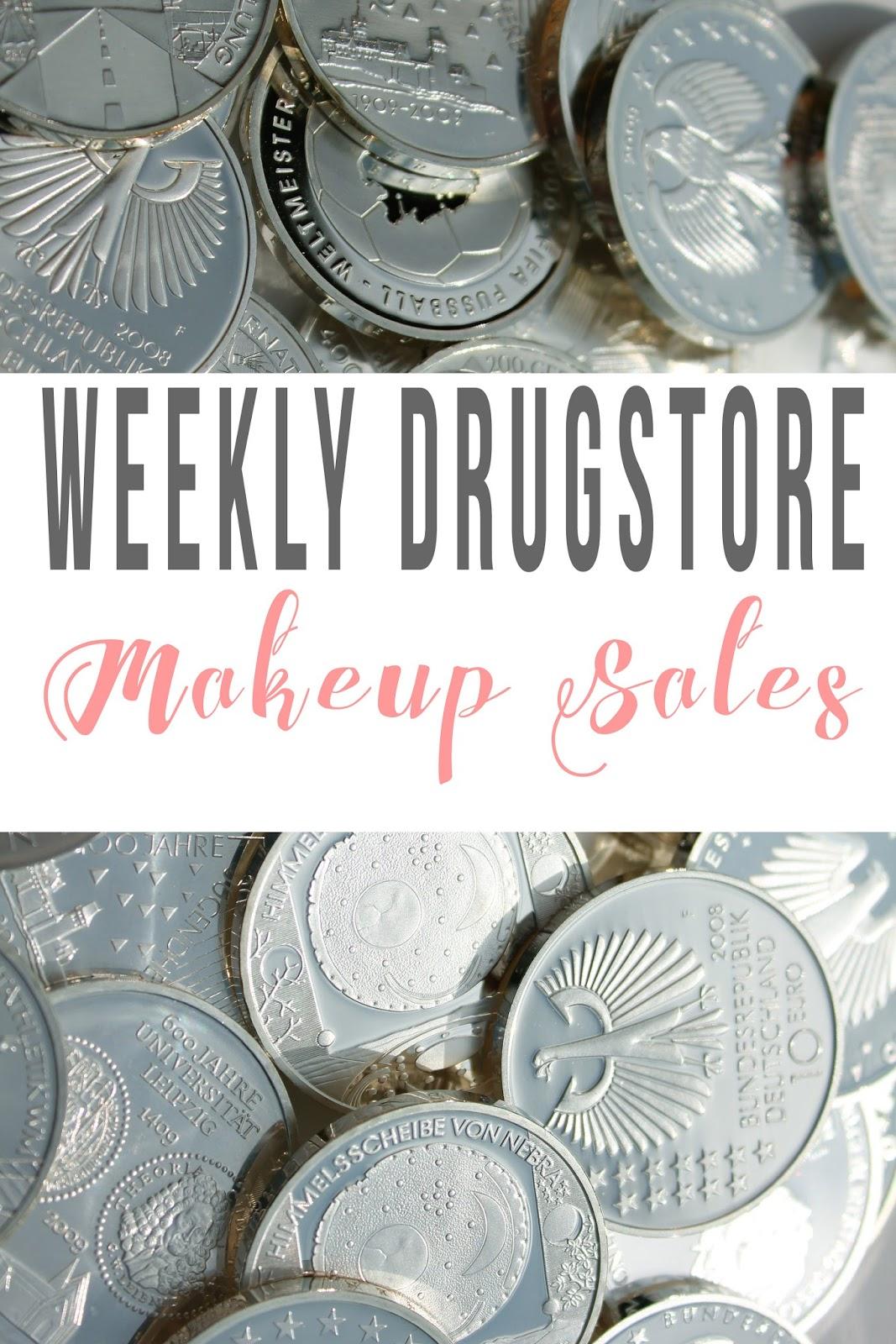 Deal Alert: Weekly Drugstore Makeup Sales