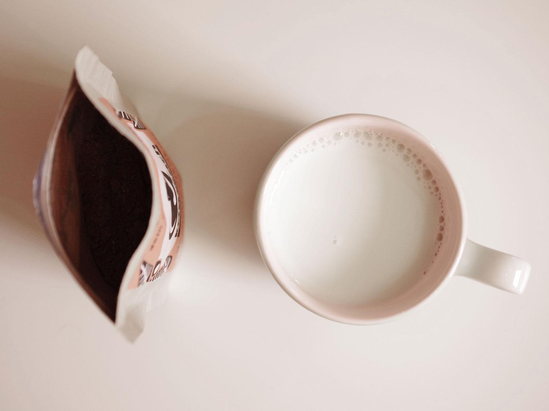 viel milch wenig kakao