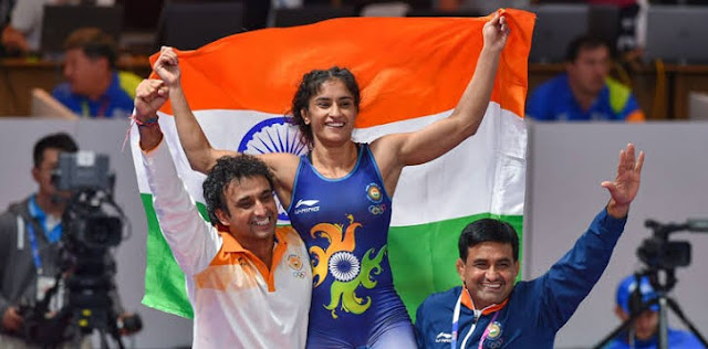 Asian Games 2018 - Vinesh Phogat becomes first Indian women wrestler to win gold at Asian Games
