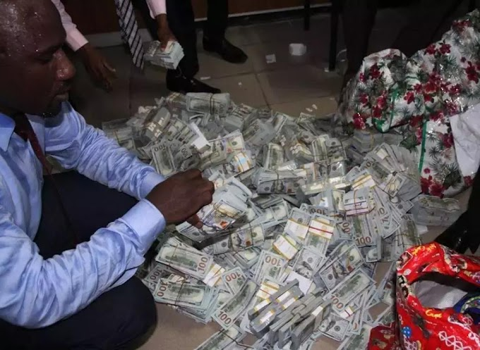 Fayose and Amaechi's aides in war of words over ownership of billions found in Lagos apartment